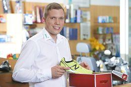 Christian Schönenberg-Orthopädieschuhtechnikermeister, zertifizierter Bewegungsanalytiker - BGM Team stinus motion