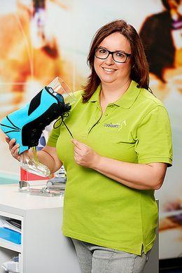 Simone Armbruster - Lymph-Fachberaterin Medizinprodukteberaterin - BGM Team stinus-motion